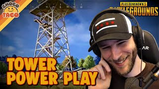 The Tower Power Play ft. A1RM4X - chocoTaco PUBG Duos Gameplay