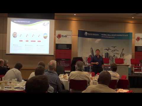 Scott Picken explains crowd funding models for property at Rode-REIM