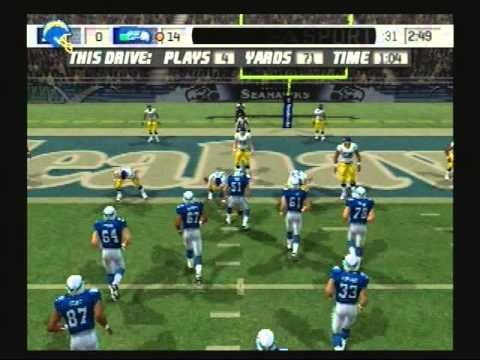 Madden NFL 07 Historic Teams Special 1981 San Diego Chargers vs 1984 Seattle Seahawks