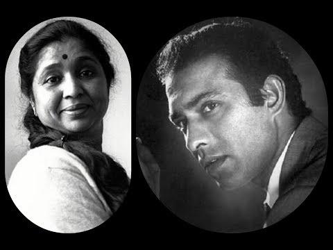 Hamara Kya Hai Hum Tadphe Asha Bhonsle, Talat Mahmood Zindagi Ya Toofan (1958) Nashad /  Nakhshab