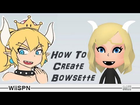 mii-maker:-how-to-create-bowsette!