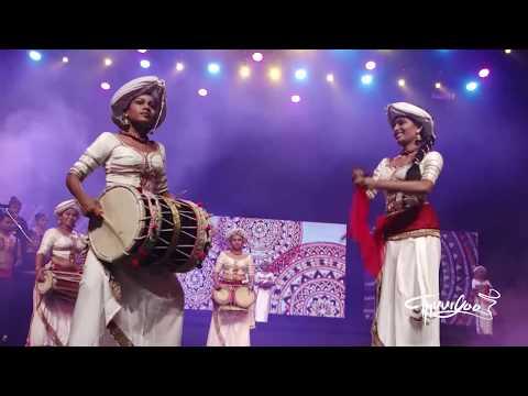 Sri lankan Drum girls-  Thuryaa - all female drum ensemble - Gandabbi