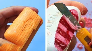 Фото The Most Satisfying Videos Of Soap Cutting Soap Crushing And Soap Cubes Oddly Satisfying Asmr 64