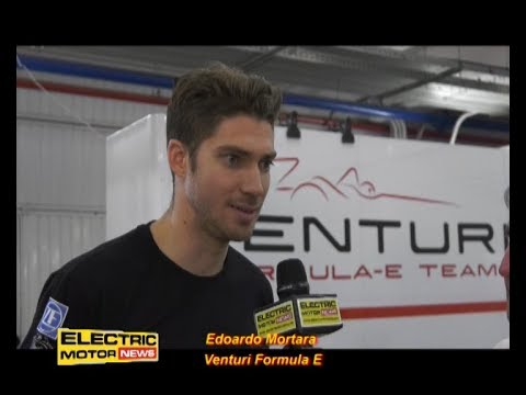 Debutto dell'italiano Edoardo Mortara - Electric Motor News in Formula E a Valencia