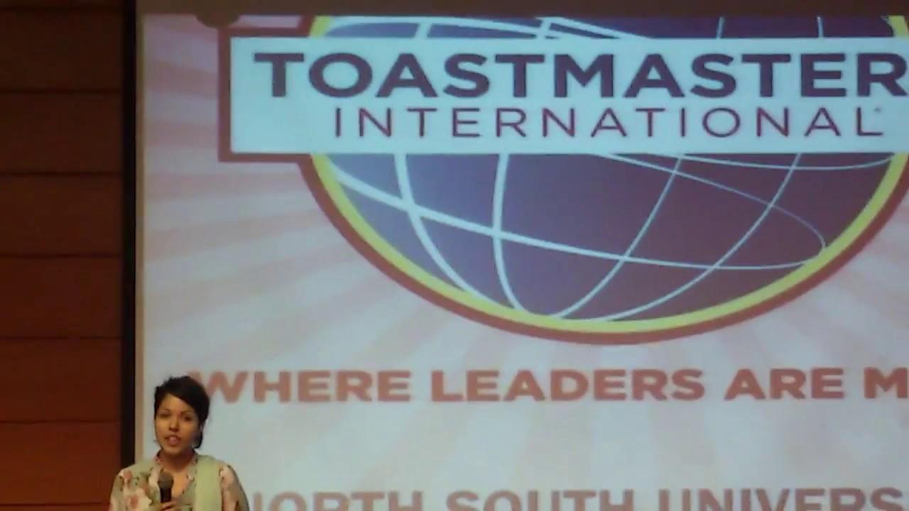 Toastmasters Icebreaker Speech 2017 Youtube