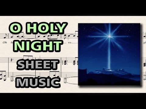 O Holy Night - Adolphe Adam | Piano Sheet Music