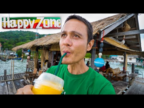 Family Island Tour - FRUIT SHAKES on Thailand's Biggest Lake!! | Songkhla, Thailand