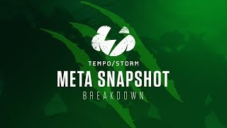 Hearthstone Wild Meta Snapshot | Before The Boom! | [Witchwood]
