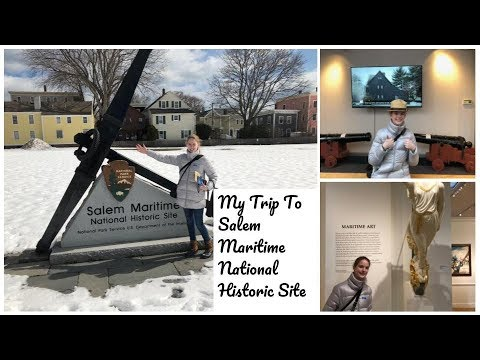 Visiting Salem Maritime National Historic Site!