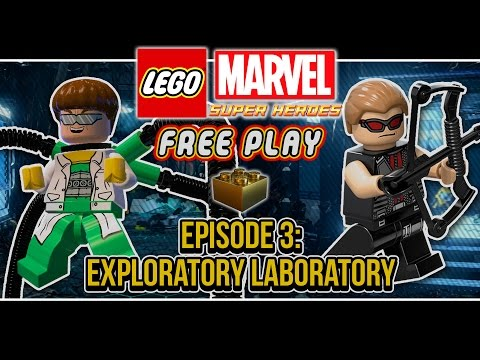 LEGO Marvel Super Heroes (Co-op Free Play): Episode 3 (Exploratory Laboratory)