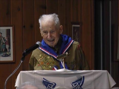 Oldest Eagle Scout Ever Awarded - Eugene Cerniglia