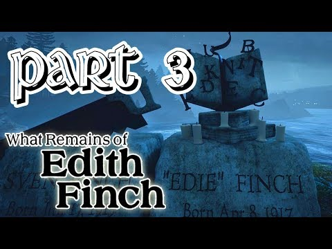 [03] What Remains Of Edith Finch - The Cemetery - Let's Play Gameplay (PC)