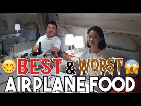 The Best And Worst Airplane Food I've Ever Had!