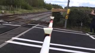 Pirton level crossing (worcs) Saturday 9.5.15