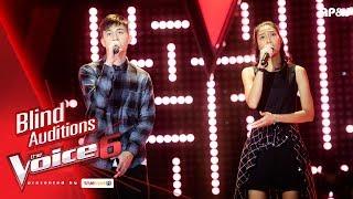 เก่ง+ข้าวฟ่าง - We don't talk Anymore - Blind Auditions - The Voice Thailand 6 - 3 Dec 2017