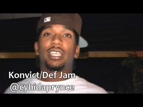 PRYNCE CYHI & YOUNG STAR J.R. IN STUDIO SESSION - KONVICT/DEF JAM
