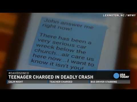 Officer Forced to Make Impossible Decision as Father Frantically Called, Texted Son About Serious Car Wreck