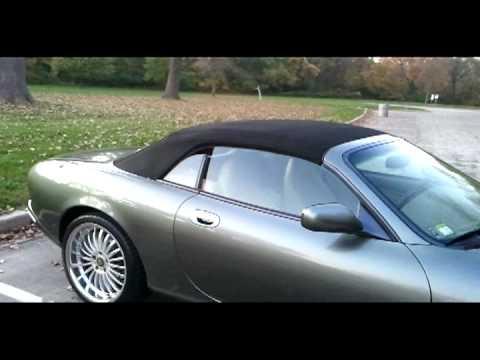 Jaguar Xk8 Modded l Mina Exhaust l Dual Taillights l Remote Top l Hideaway License Plate  + more