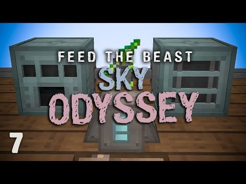 FTB Sky Odyssey Ep. 7 New Starting Maps + XP Storage