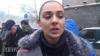 Մոմավառություն ՀՀ ում ՌԴ դեսպանատան դիմաց՝ Սոչիի ավիավթարի զոհերի հիշատակին
