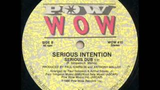 Serious Intention - Serious (Dub)