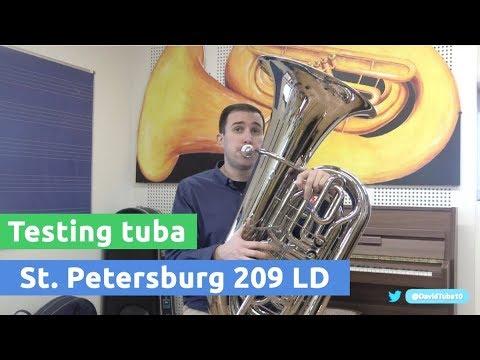 Resumen del post: Análisis de la Tuba St Petersburg 209 LD