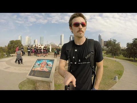 Inline skating Vlog #2 - Brentwood to Butler Park.