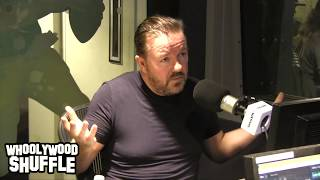 Ricky Gervais Talks About Eminem, Tupac, Jay Z and More with DJ Whoo Kid