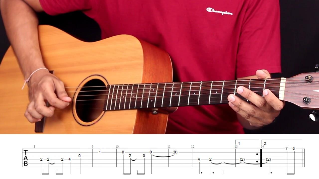 Mere Rang Mein Rangne Wali Guitar Tabs (Lead) Lesson / Tutorial