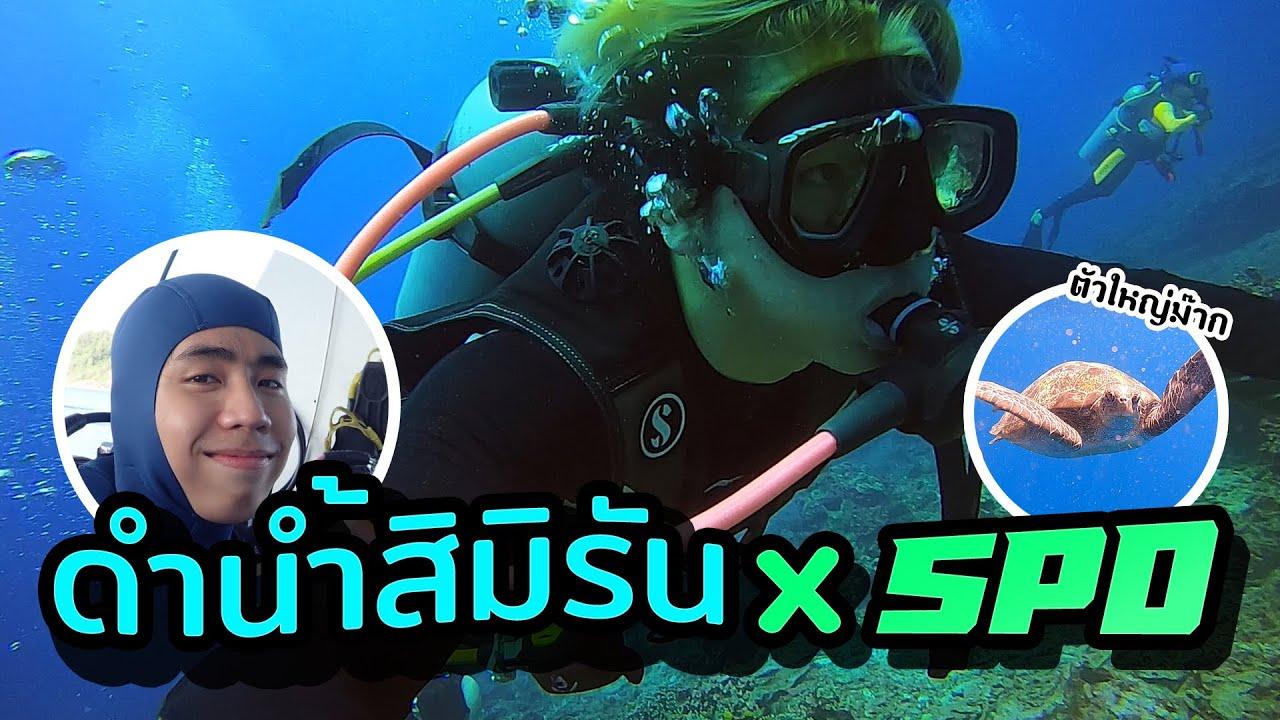 พาเที่ยวโลกใต้น้ำ หมู่เกาะสิมิรันXSPD #เกือบโดนเต่ากัด