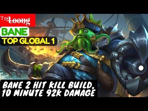 Bane 2 Hit Kill Build, 10 Minute 92K Damage [ Top GLobal 1 Bane ] ᵀˢL̶o̶o̶n̶g̶ Bane