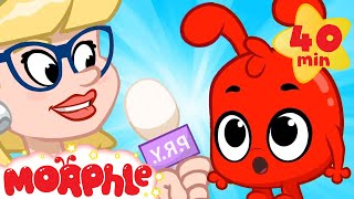 Morphle On The News! - My Magic Pet Morphle | Cartoons For Kids | Morphle TV | Mila and Morphle