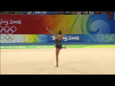 Evgenia Kanaeva Rope 2008 Olympic Final