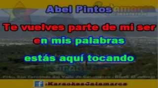 Abel Pintos   Sin principio ni final  ( karaoke )  (PRODUCCIONES ROBERTO)