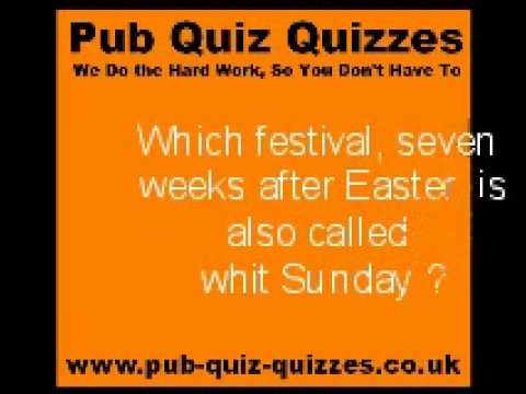 Easter Quiz - Perfect Quiz For Easter And Spring