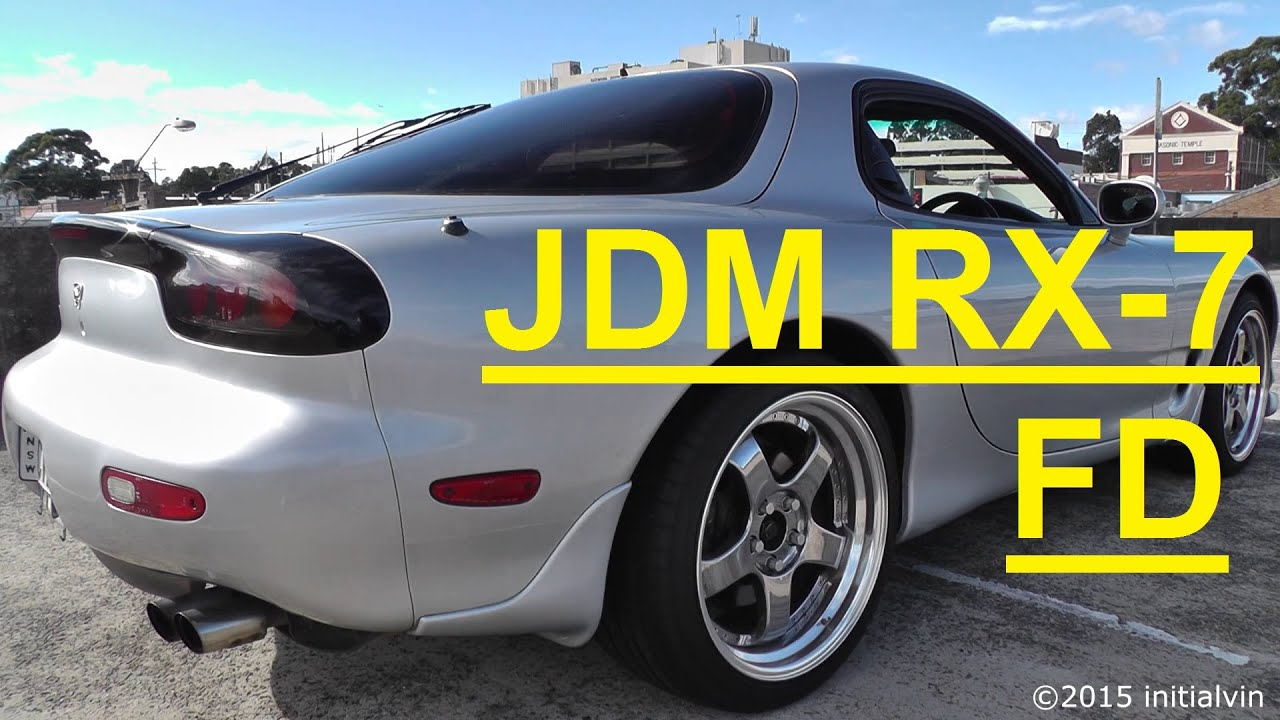 FD RX7 Series 8 Stock Mazda 2000 - YouTube