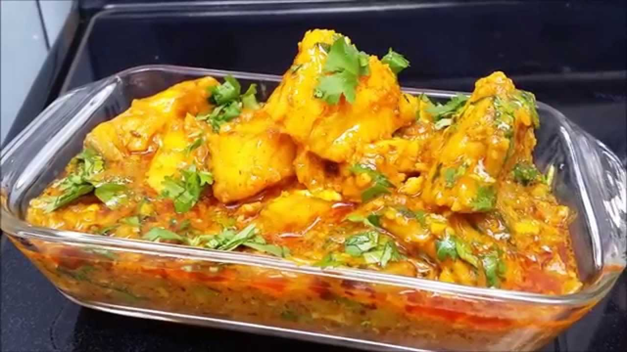 How to cook fish curry cod fish curry recipe youtube for How to cook cod fish