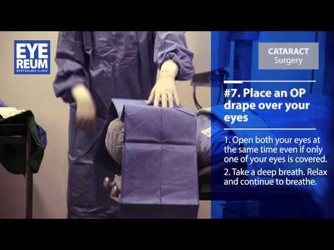 [EYEREUM] Cataract Surgery procedure in EYEREUM Eye Clinic