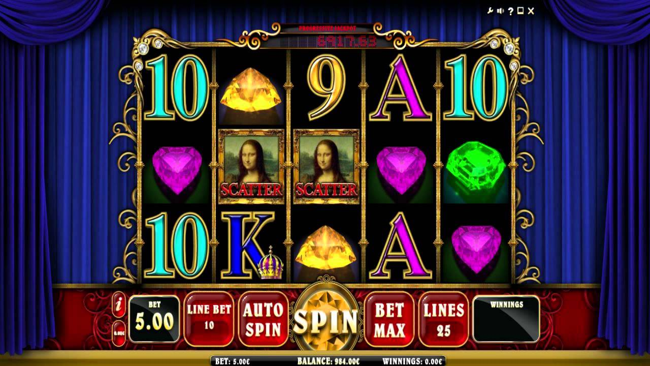 Mona Lisa Jewels Slot Machine