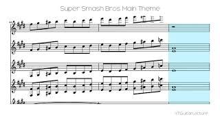 Super Smash Bros Main Theme