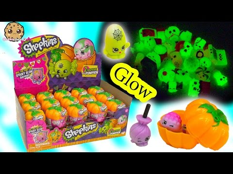 Unboxing Full Box of 30 Shopkins Halloween...