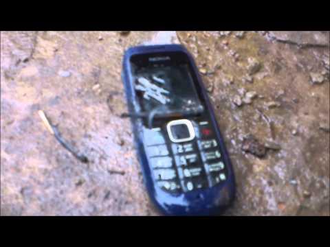 Краштест телефона NOKIA 1616[ krashtest mobile phone NOKIA 1616]