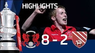 Leyton Orient 8 - 2 Droylsden (AET) | The FA Cup 2nd Round Replay - 07/12/10