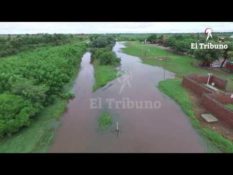 En Las Lajitas, con  unos 300 evacuados, continúa el temor por otro temporal
