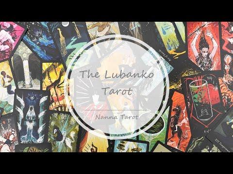 開箱  魯斑克塔羅牌 • The Lubanko Tarot // Nanna Tarot