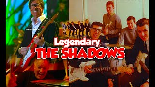 THE SHADOWS - SHADOWSMANIA!! Best Playlist of Hank Marvin & Bruce Welch & Brian Bennett