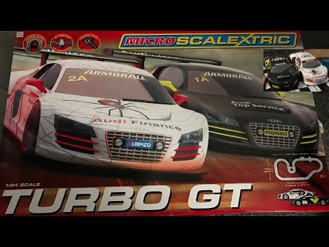 Turbo GT Micro Scalextric Track Setup