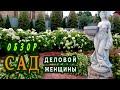 Сад ДЕЛОВОЙ ЖЕНЩИНЫ-яркий,ароматный, цветочный,ягодный!
