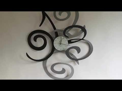 Orologio da Parete di Design in Ferro Colorato Made in ...