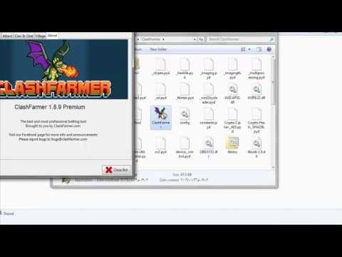 تحميل برنامج clash farmer 1.8.16 premium الهجوم التلقائي تجميع الموارد 2017